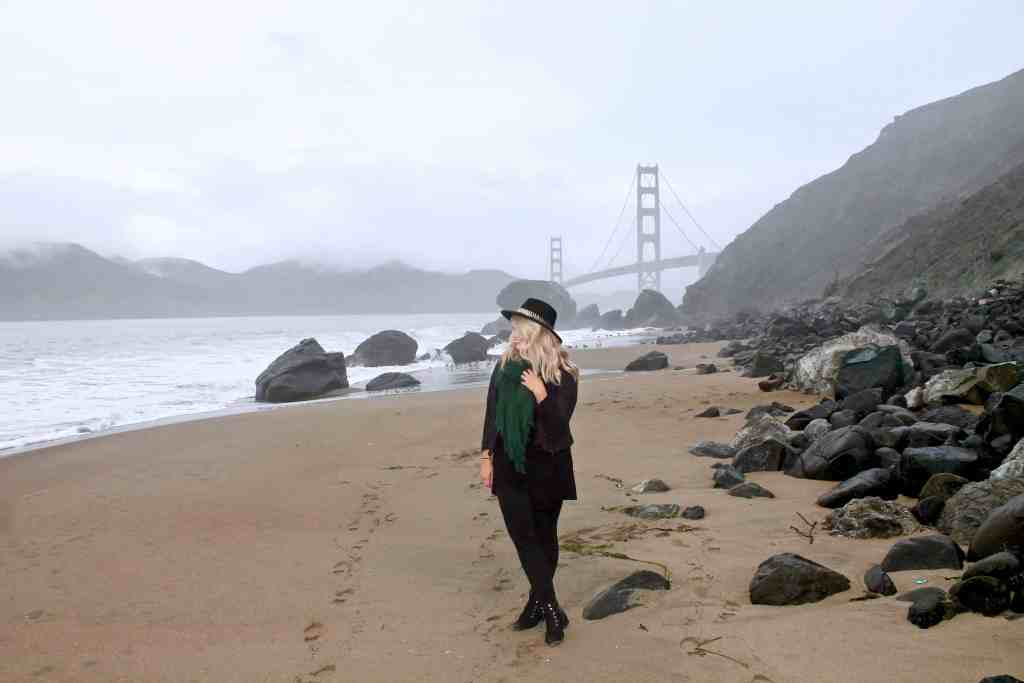 3 MUST-SEE SPOTS IN SAN FRANCISCO | THE REPUBLIC OF ROSE | MARSHALL BEACH