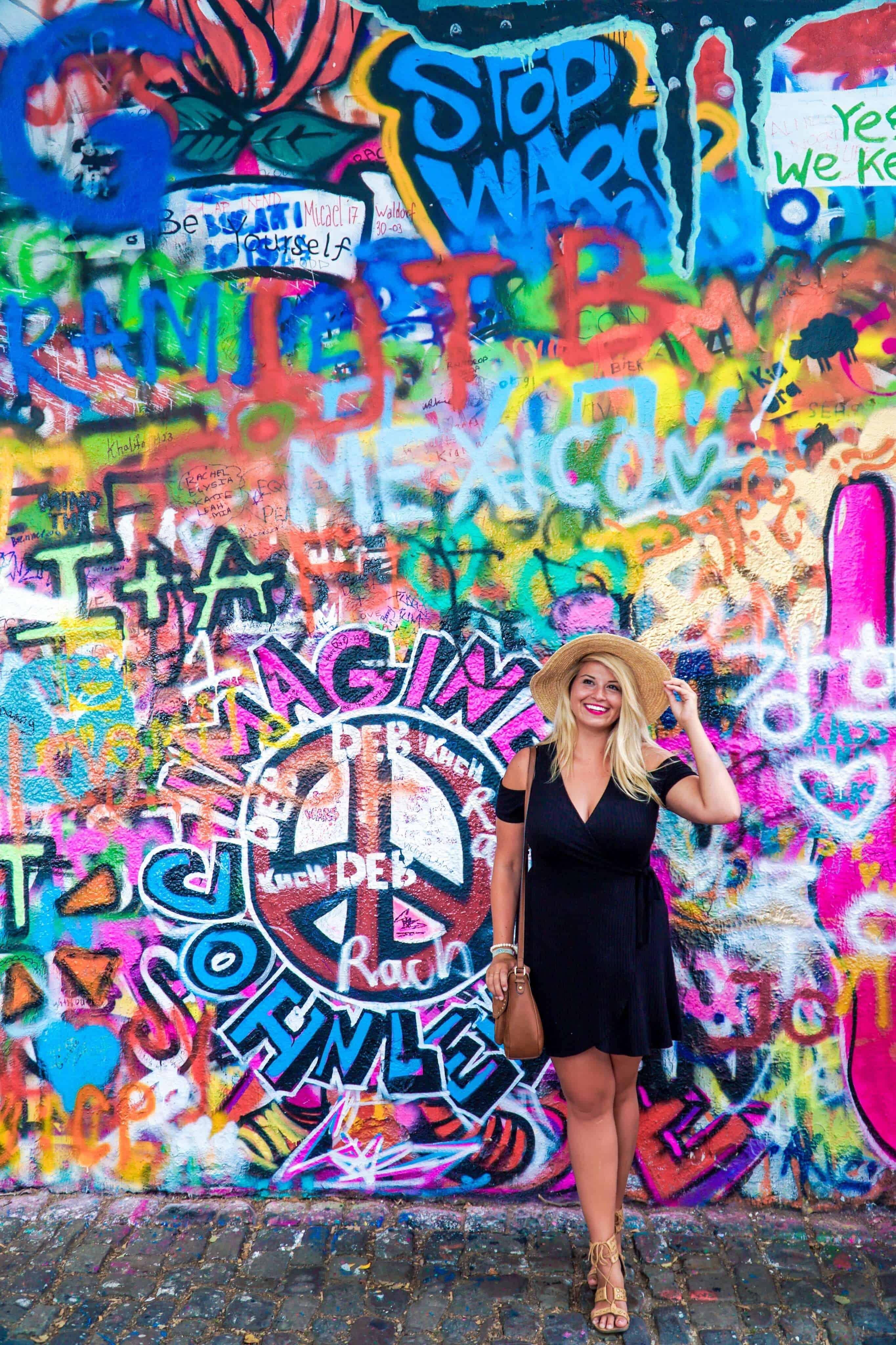 John Lennon Wall - Prague in 20 Photos | The Republic of Rose