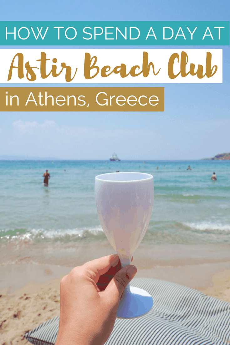 How to Spend a Day at Astir Beach Club in Athens Greece | The Republic of Rose