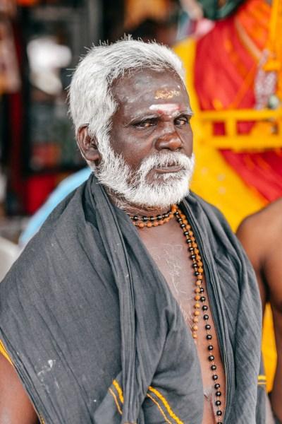Ritratto uomo indiano