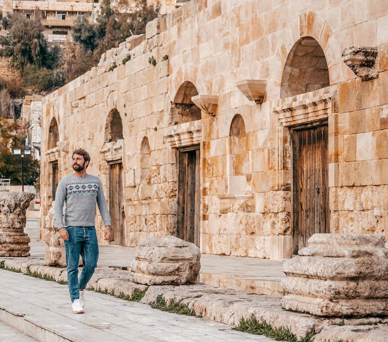 Giordania - Amman - Centro Gianluca Fazio TheRerumNatura Cammina