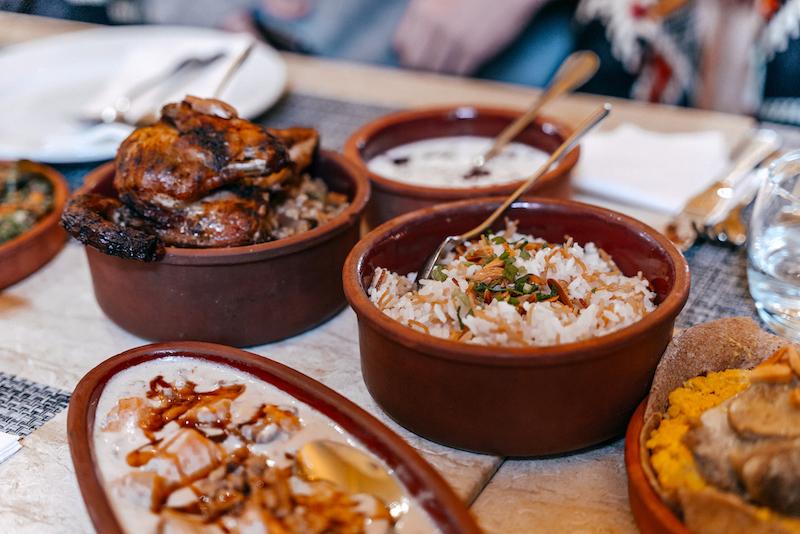 Jordan Heritage Restaurant Amman Ristorante - Giordania