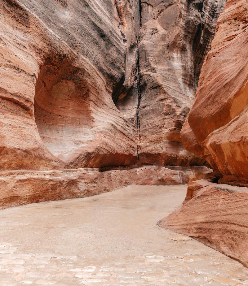 Canyon Petra - Giordania