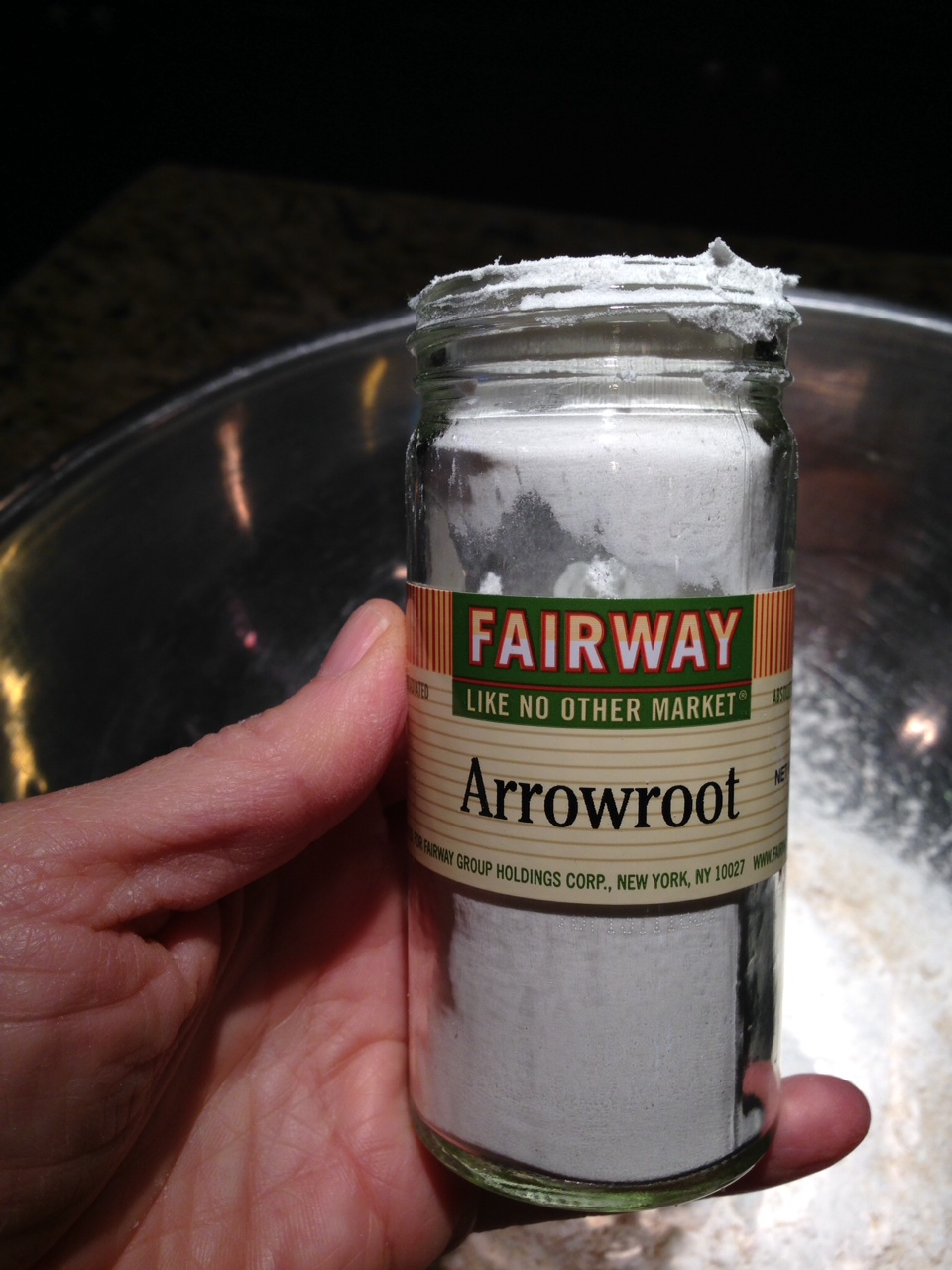 arrowroot jar