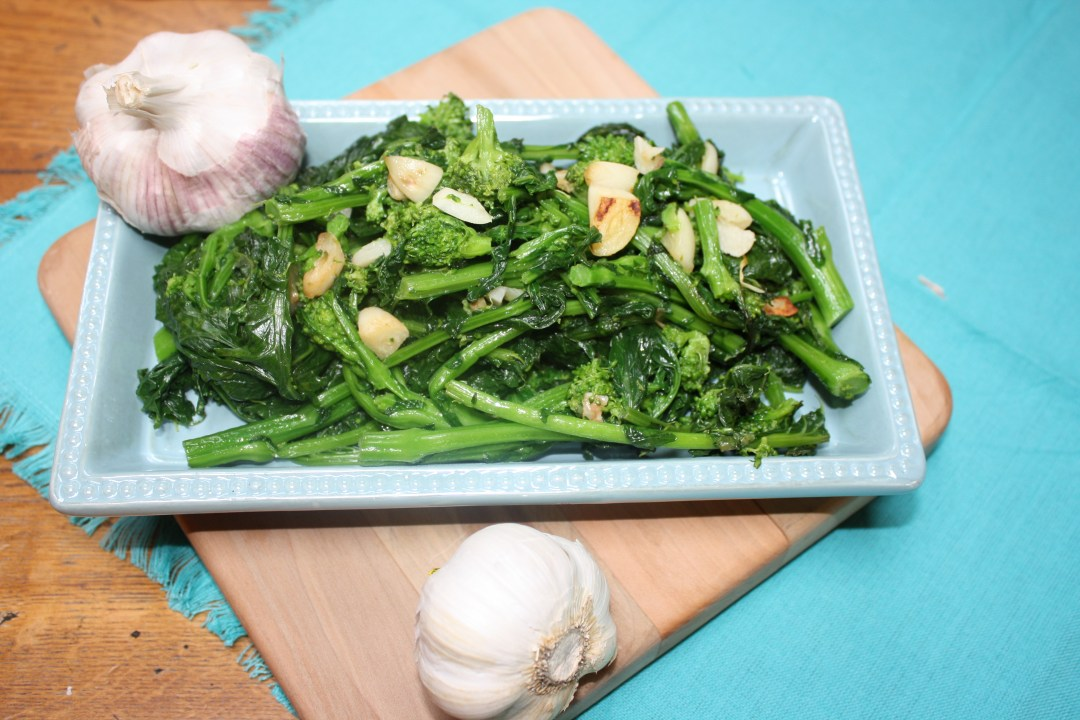 broccoli rabe  with garlic dun1
