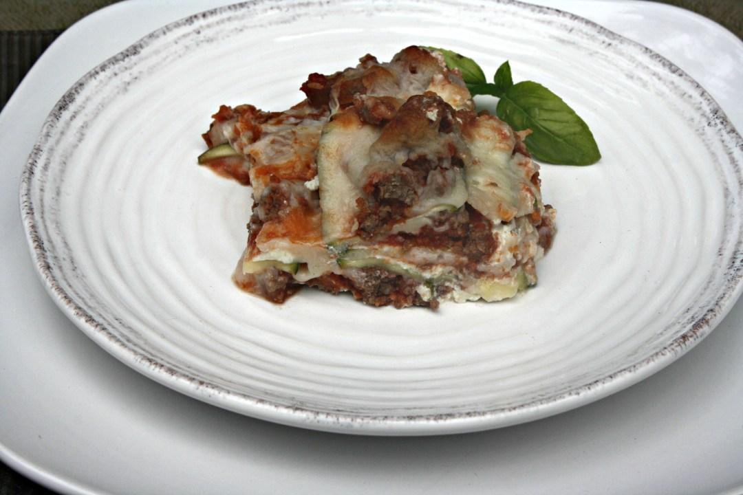 edited zucchini lasagna close