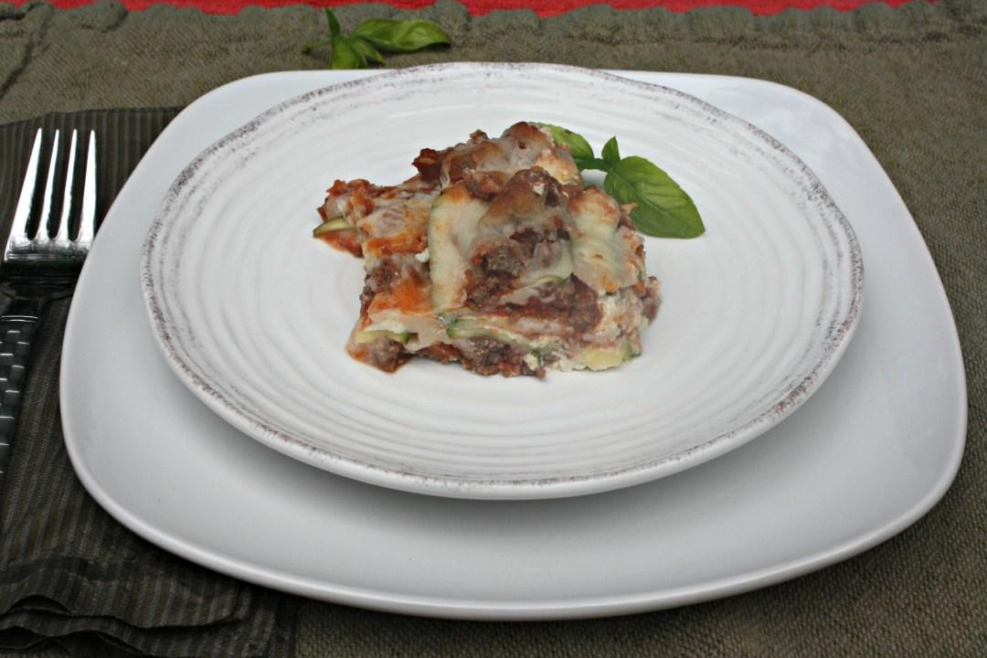 edited zucchini lasagna slice side