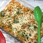 Cheesy Vegan Pasta And Broccoli Casserole