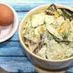Creamy Potato Salad With Avocado And Egg