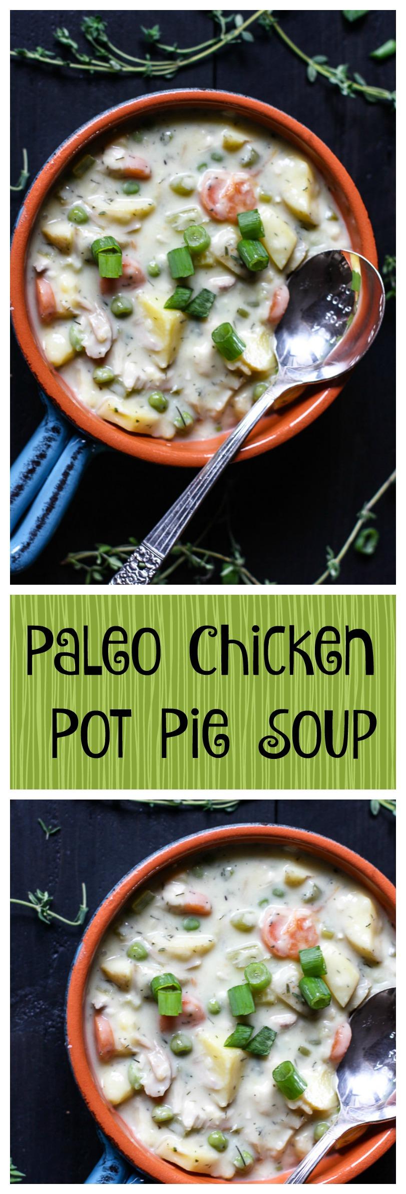 paleo chicken pot pie soup