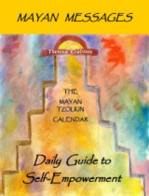 Mayan Messages Inspirational Quotes book cover