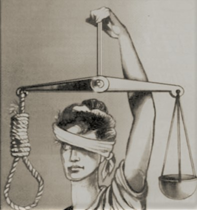 Prison Vision: Lady Justice with noose