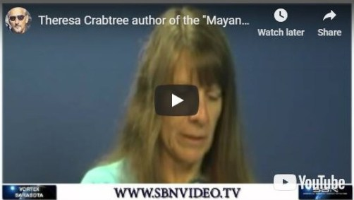 Theresa Crabtree video thumbnail interview about Mayan Messages