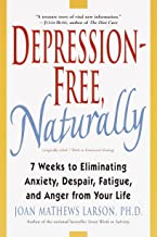 Depression Free Naturally Book Cover: Addiction Resource