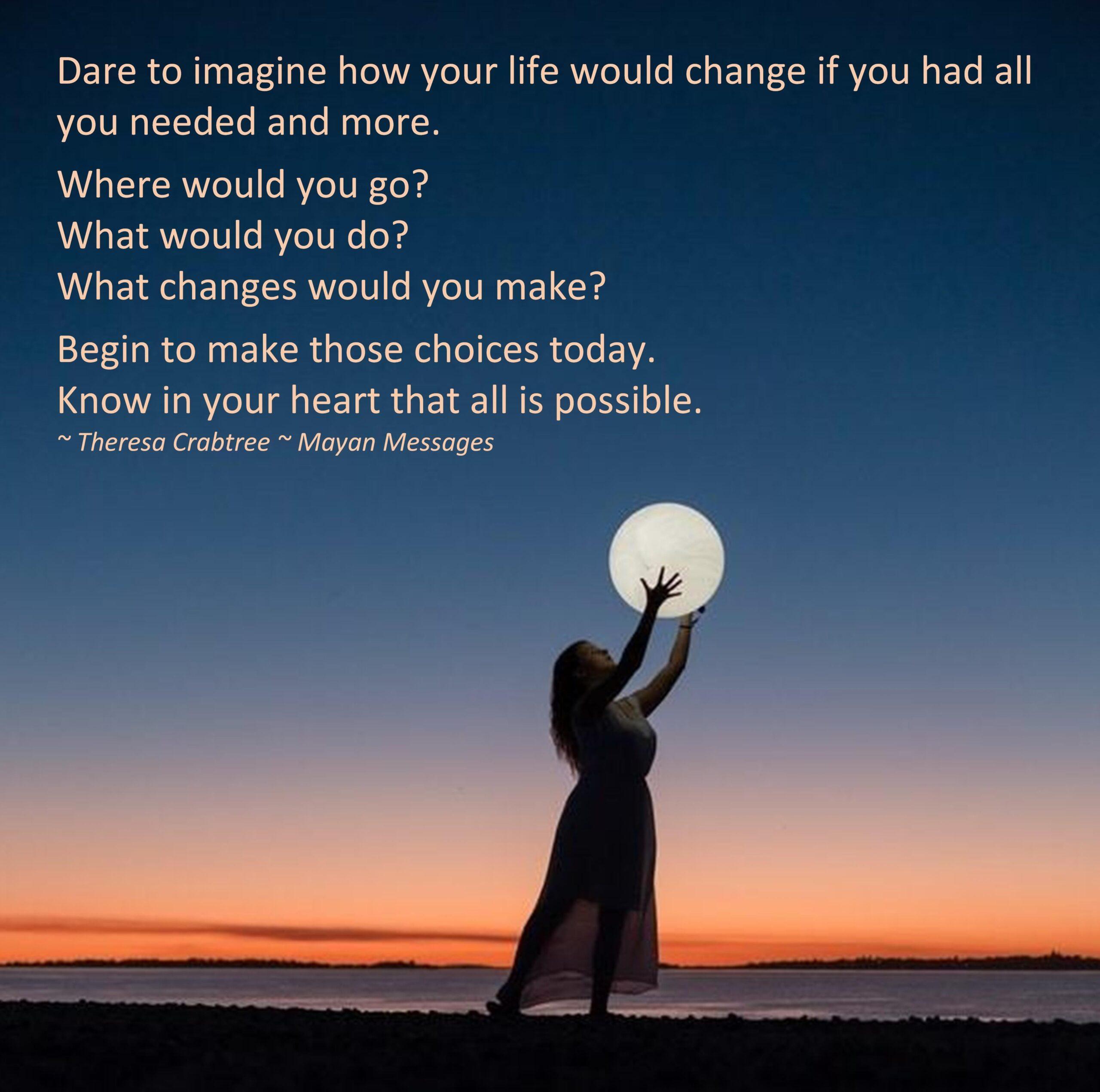 Dare to Imagine