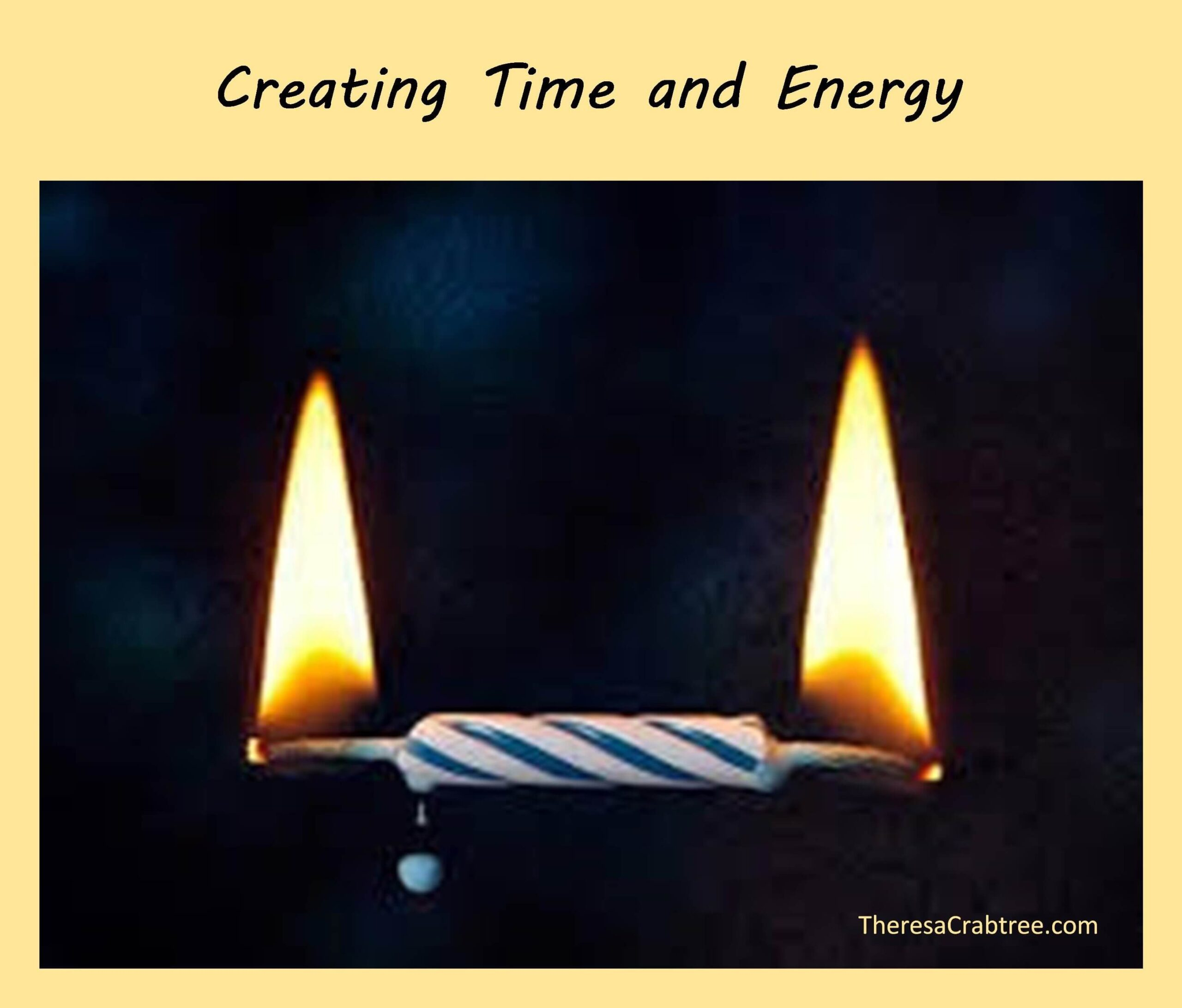 Creating Time and Energy
