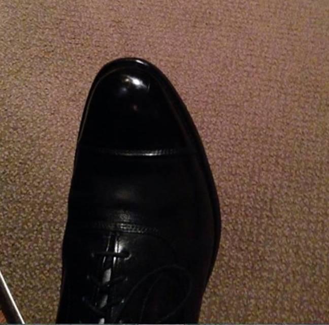J shoe shine cropped