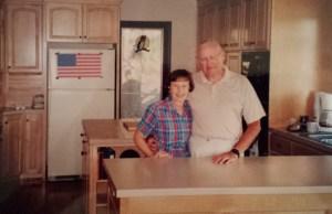 """My parents in their """"retirement"""" kitchen"""