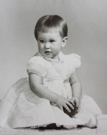 Me on my 1st birthday