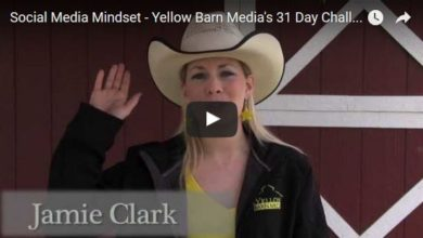 Your Social Media Mindset – Video from Yellow Barn Media