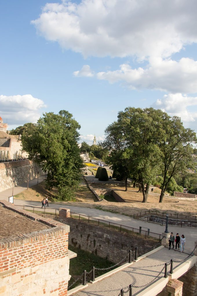 Kalemagdan park: Things to do in Belgrade