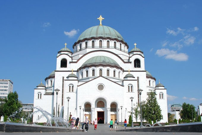 St. Sava Orthodox cathedral with ornate architecture: Things to do in Belgrade