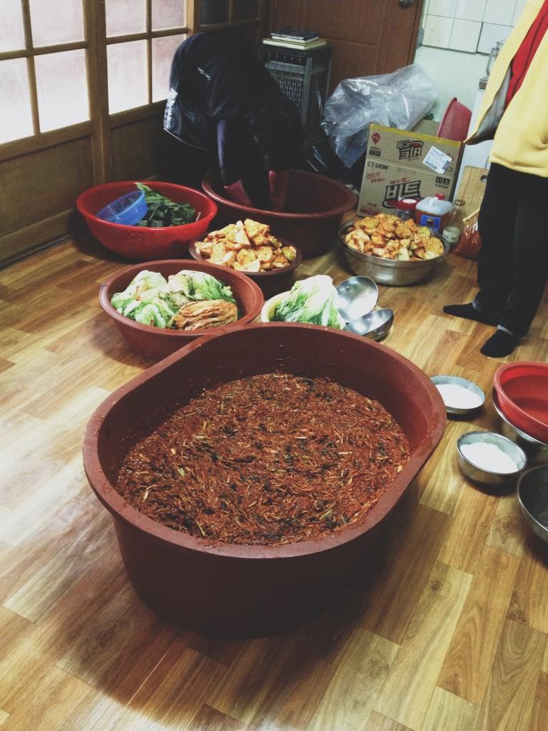 making-kimchi