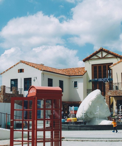 Down in Damyang, Korea, there's a quirky, French inspired village called Meta Provence.