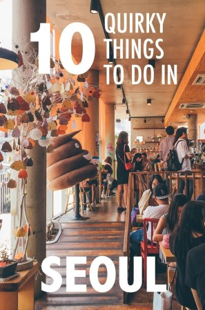 Read on for some of our favorite quirky things to do in Seoul, South Korea, a country known for its fun activities. Hint hint, one of them involves poo.