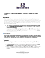 The Risk MAP Program Information for Homeowners Renters and Business Owners