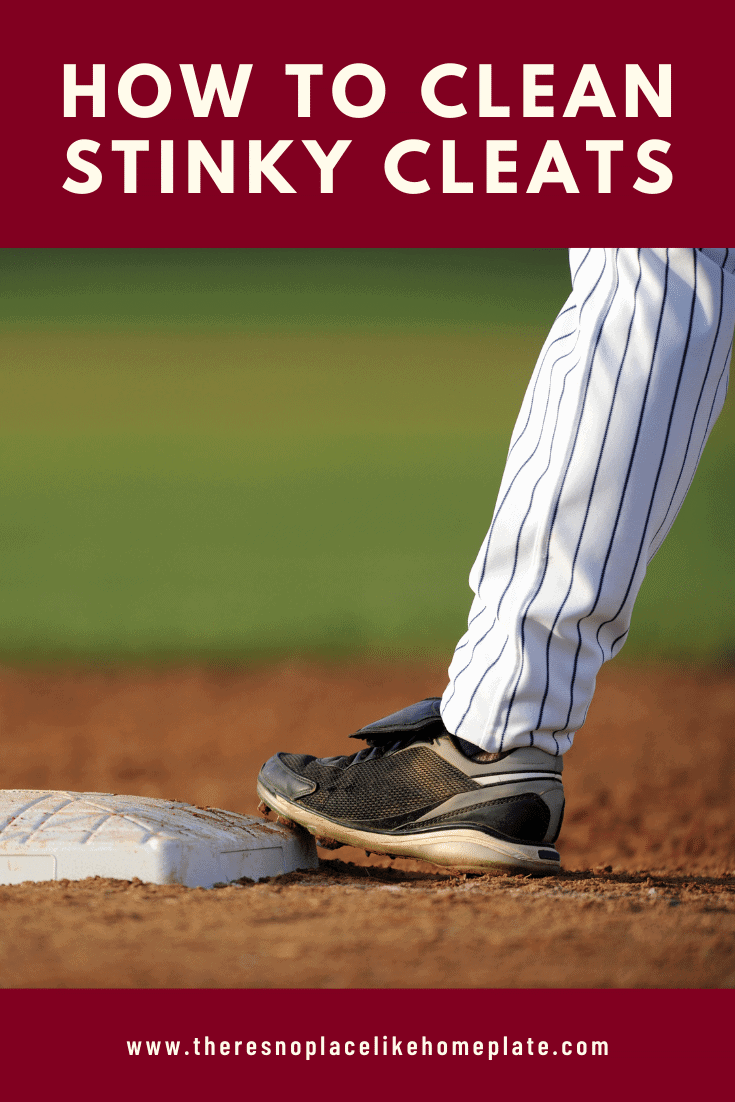 how to clean stinky cleats, baseball cleats