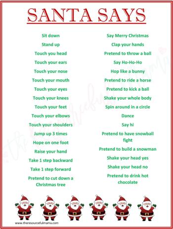 printable santa 10 fun games activities letters from santa blog