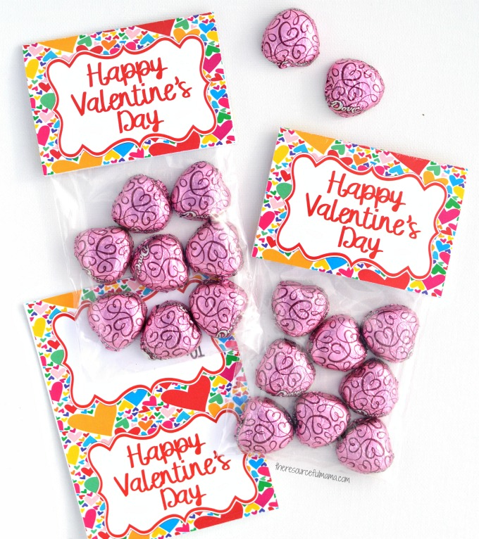 Valentines Day Treat Bag Toppers The Resourceful Mama