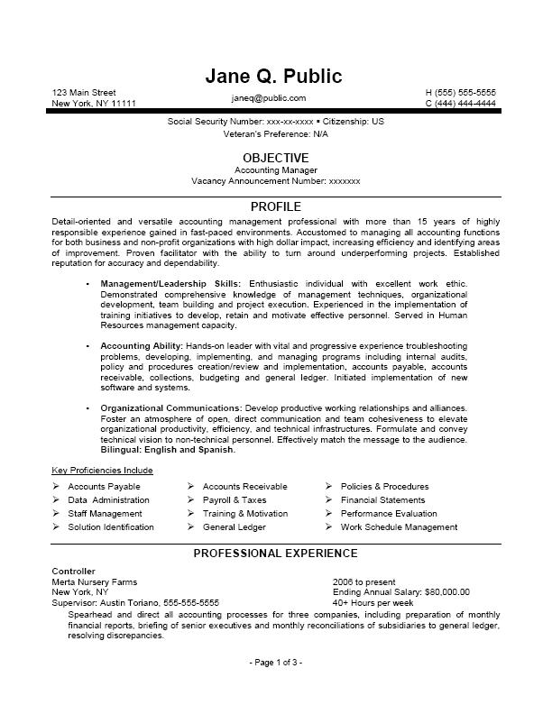 Federal Archives The Resume Clinic