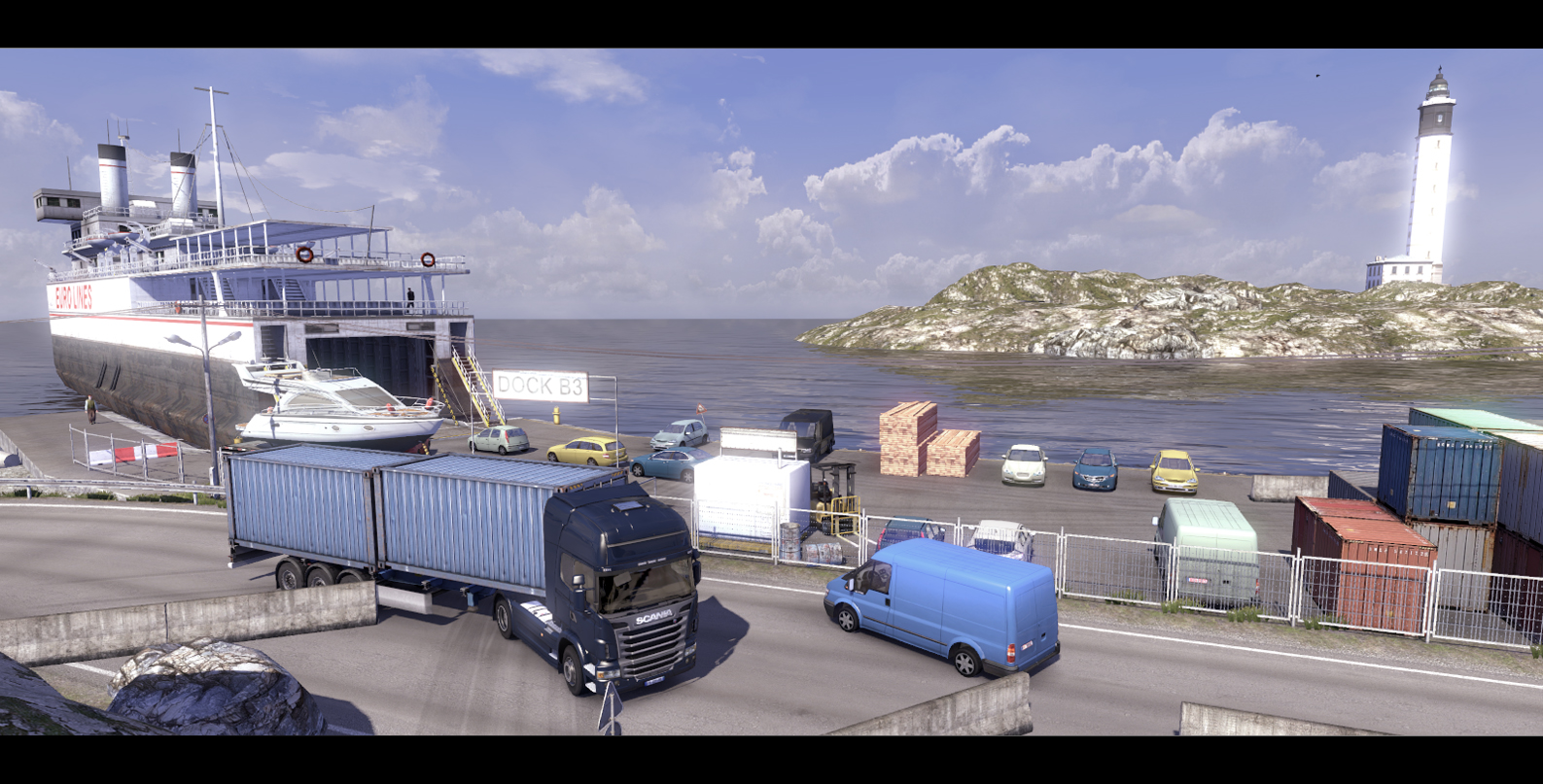 Scania Truck Simulator Shots And Euro Truck Simulator 2 Maps