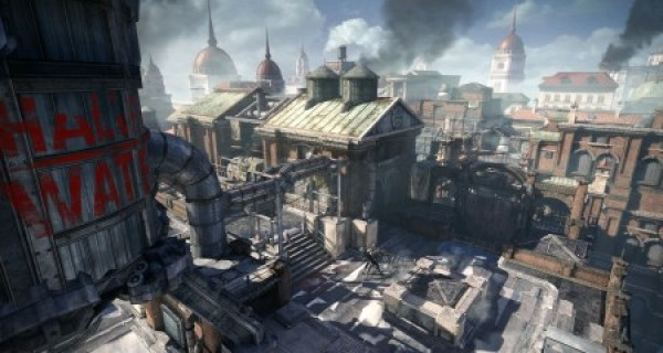 Gears of War Judgement Screenshot Multiplayer Turret Graphics Overrun