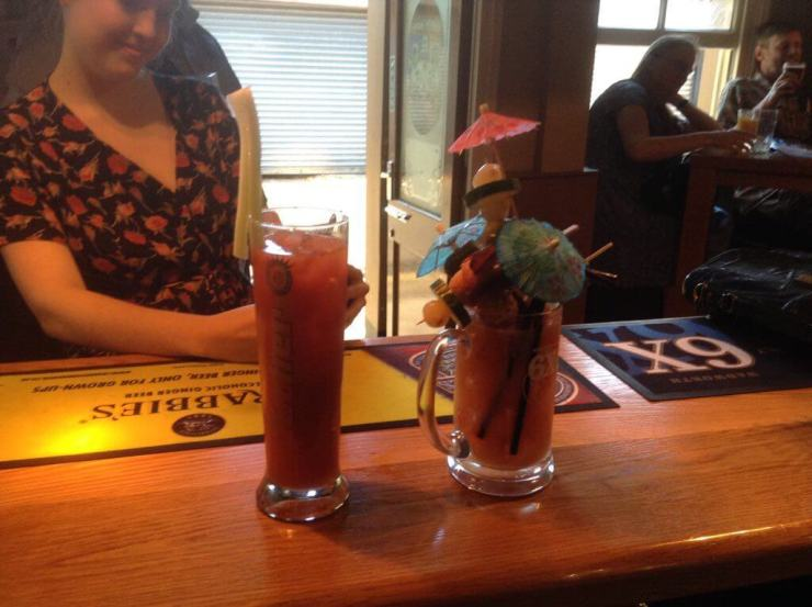 The Eldon Arms, Reading, 2017, Bloody Mary Contest