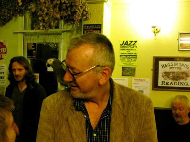Colm Daly at The Retreat pub in Reading