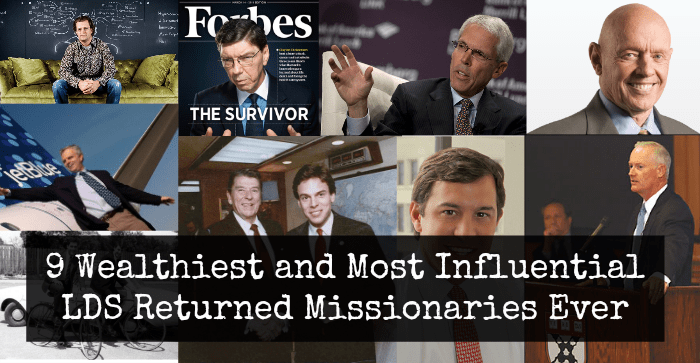 9 Highly Wealthy and Influential LDS Returned Missionaries