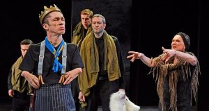 three men, one woman, King Richard III
