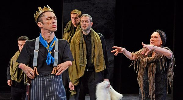 three men, one woman, King Richard III