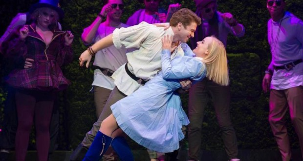 Stephen Webb and Kerry Ellis in Wonderland