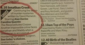 Circled In The Radio Times