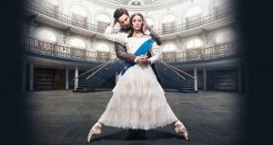 ballet dancers dressed as queen victoria and prince albert