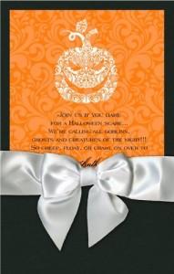 Ib Pumpkin Wedding Invitations