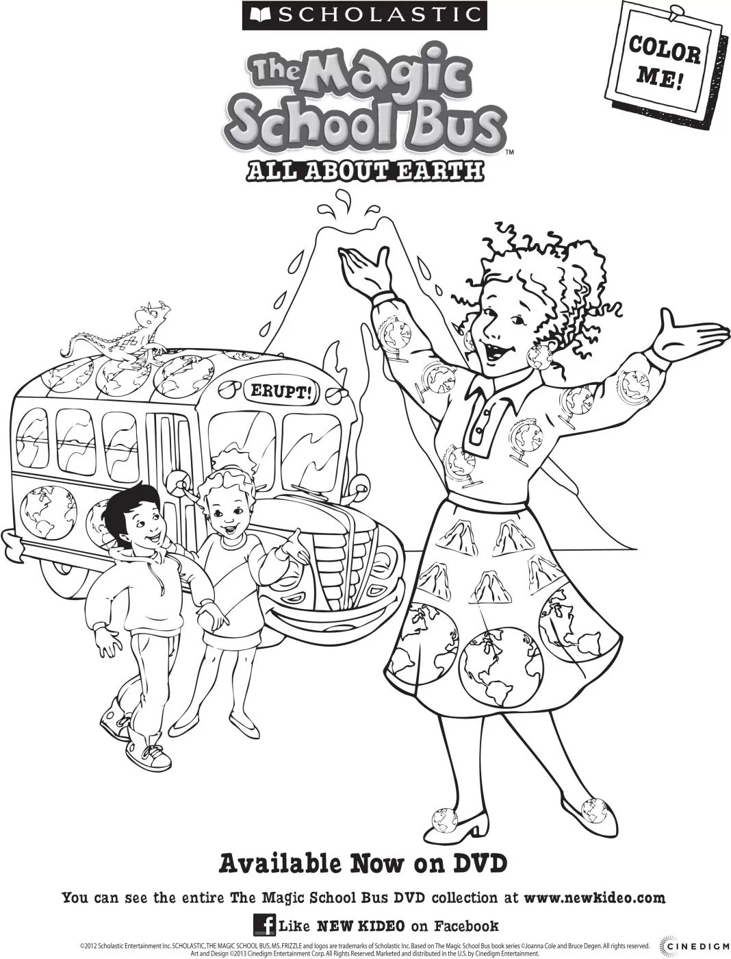 Magic School Bus All About The Earth Dvd