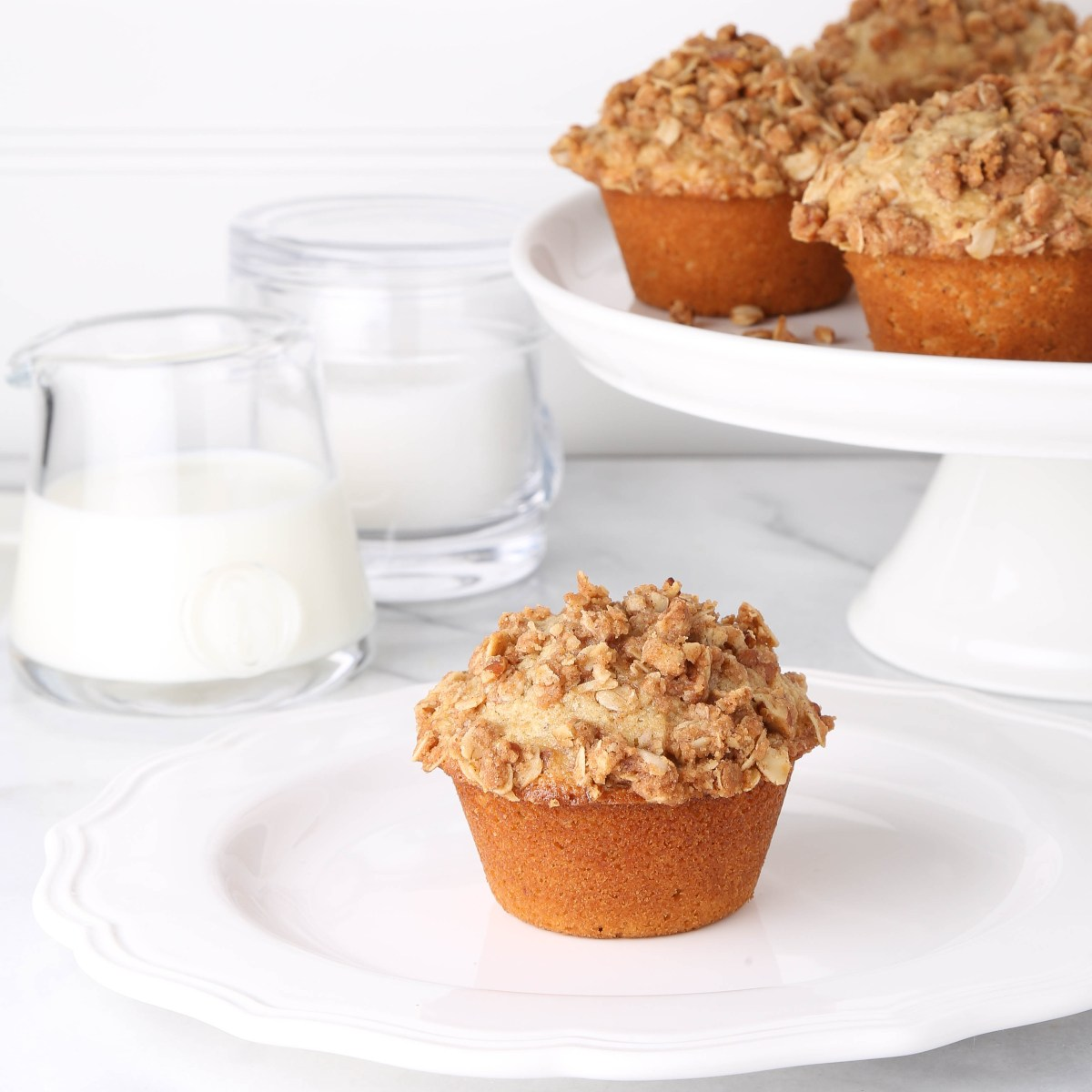 Cooks Illustrated (Really Good) Oatmeal Muffins