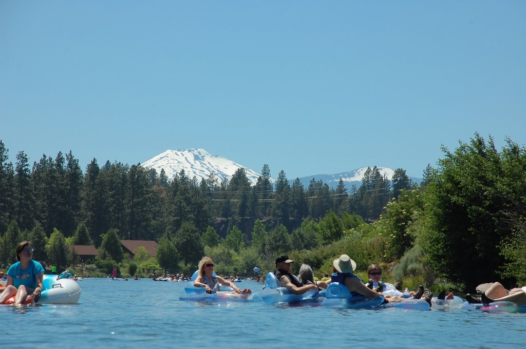 If this is the view from the Deschutes River, sign me up to float all summer.