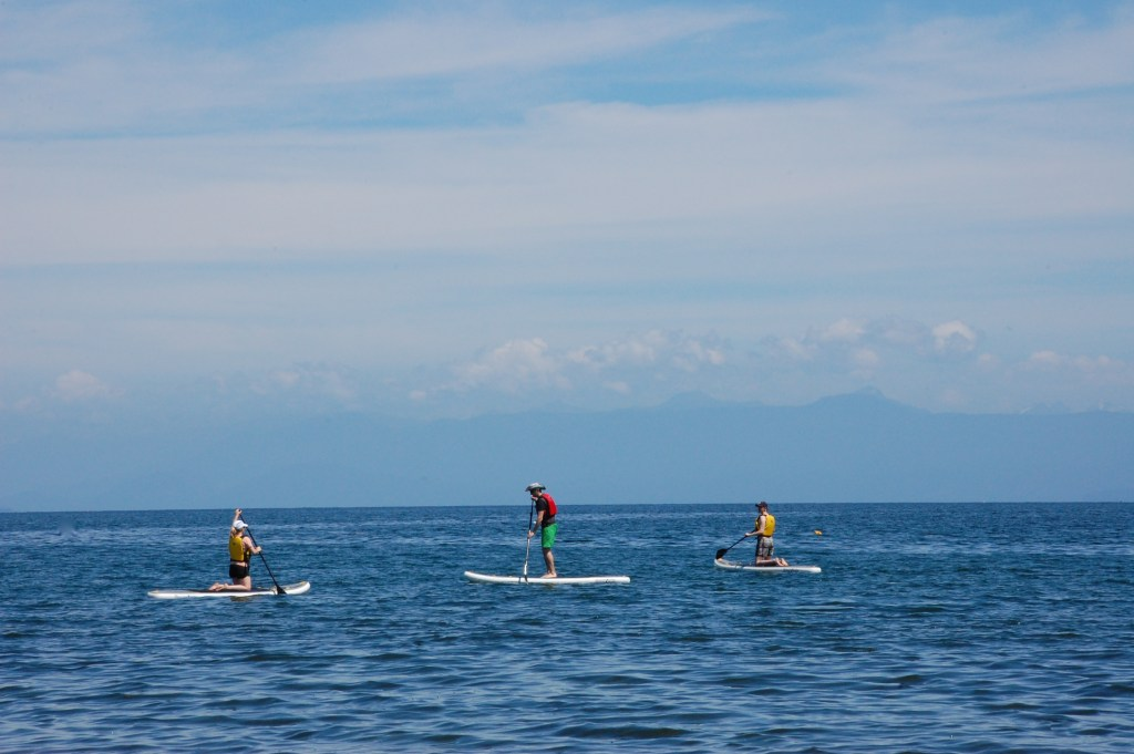 Paddleboarding in Parksville, Vancouver Island | theringers.co