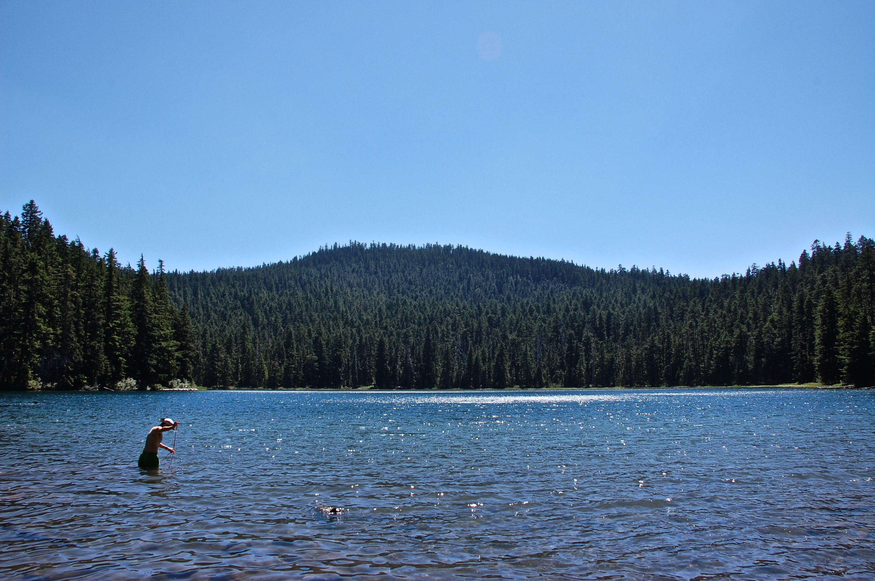 july 4th in mount hood national forest.